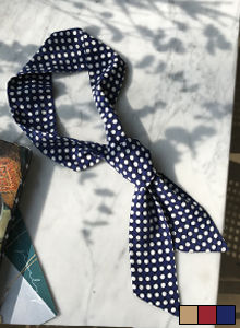 66GIRLSPolka Dot Neck Tie