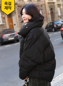 66GIRLSHigh Collar Puffer Jacket