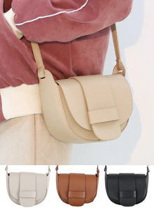 66GIRLSStrap Accent Saddle Bag