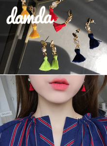 66GIRLSTassel Drop Earrings