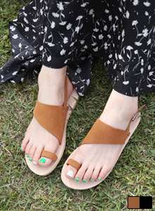 66GIRLSToe Loop Slingback Sandals