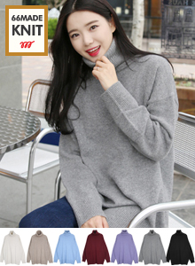 66GIRLSLong Turtleneck Sweater
