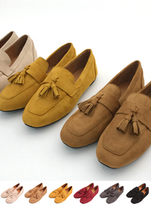 66GIRLSTassel Accent Loafers
