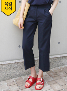 66GIRLSPleated Semi-Elasticized Slacks